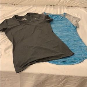 Underarmour and Reebok athletic tech tshirts